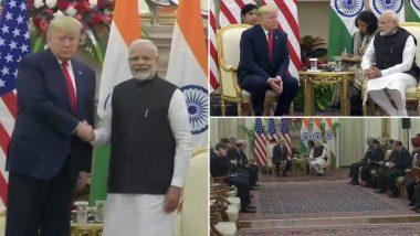 Donald Trump India Visit Day 2 Live Updates:  भारत-अमेरिका संयुक्तपणे संरक्षण दलाला अधिक मजबूती देणार- डोनाल्ड ट्रम्प