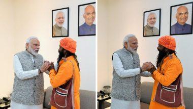 वाराणसी: पंतप्रधान नरेंद्र मोदी यांनी घेतली लेकीच्या लग्नाचे आमंत्रण धाडणाऱ्या रिक्षा चालकाची भेट