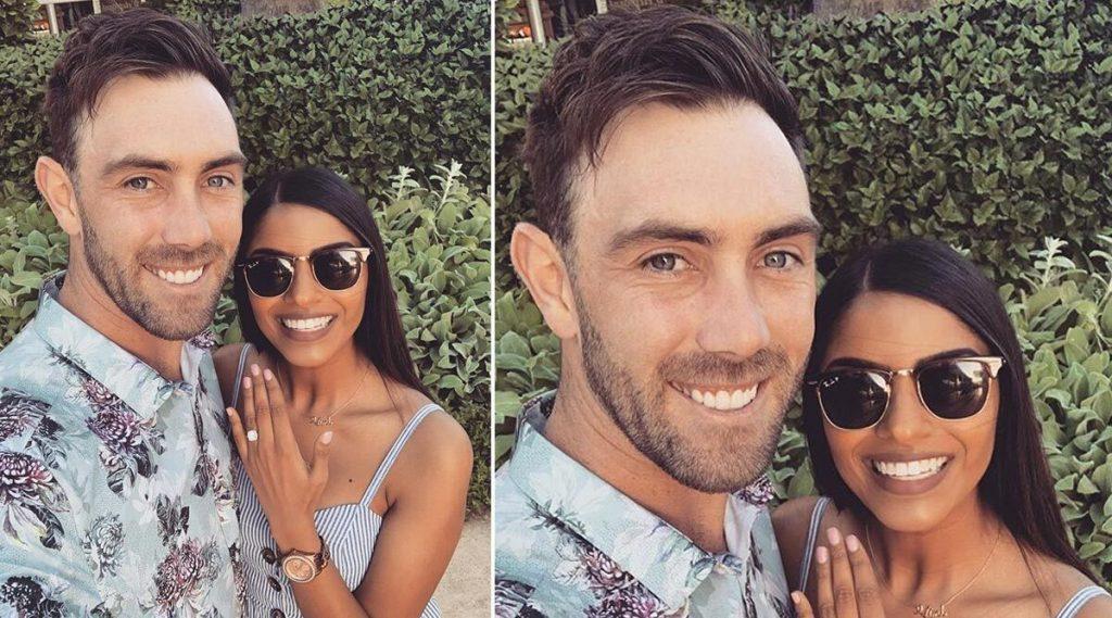 ऑस्ट्रेलियन अष्टपैलू क्रिकेटपटू ग्लेन मॅक्सवेल बनला भारताचा जावई, गर्लफ्रेंड विनी रमनसोबत Engagement ची केलीघोषणा