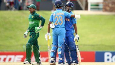 """Video: भारत-पाकिस्तान अंडर-19 विश्वचषक सेमीफायनल सामन्यातआफ्रिकन चाहत्यानेलगावले""""काश्मीर बनेगा पाकिस्तान"""" चे नारे"""