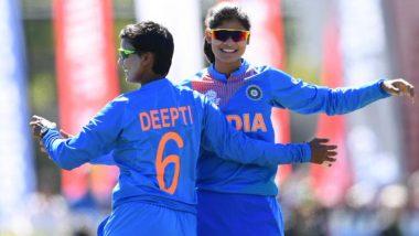 IND vs SL, Women's T20 World Cup 2020: राधा यादवने घेतल्या4 विकेट्स, श्रीलंका महिला टीमने दिले भारताला दिले114 धावांचे लक्ष्य
