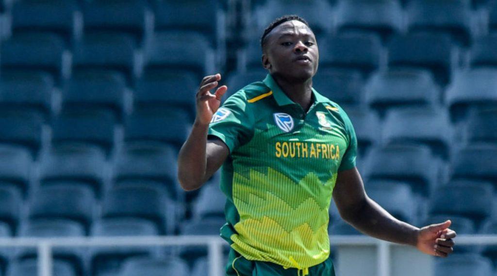 दक्षिण आफ्रिका टीमसाठी मोठा धक्का, ऑस्ट्रेलिया आणि भारतविरुद्ध वनडे मालिकेतून कगिसो रबाडा आऊट