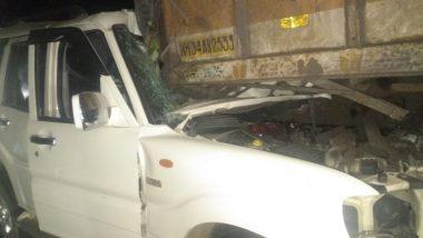 चंद्रपूर: भाविकांच्या वाहनाला अपघात, 6 ठार, 6 जखमी; मूल तालुक्यातील केसलाघाट येथील घटना