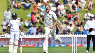 IND vs NZ 1st Test Day 1: भारत पहिल्या डावात 242 धावांवर ऑलआऊट, काईल जैमीसन ने घेतल्या 5 विकेट