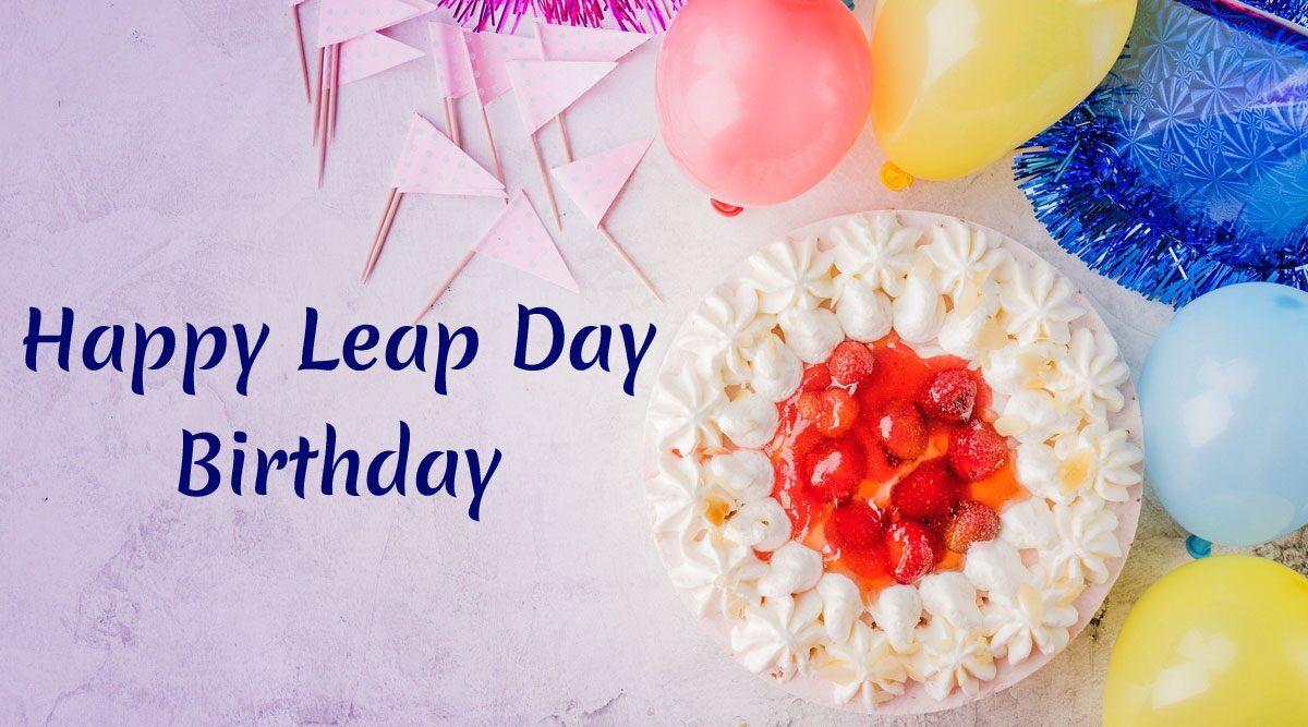 Leap Year Birthday Wishes In Marathi