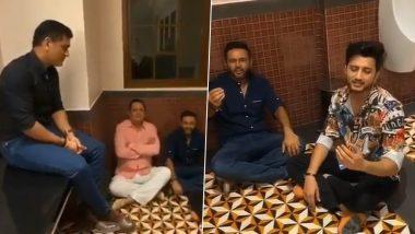 Video: एमएस धोनी चे सिंगिंग सेशन; पार्थिव पटेल, पियुष चावला समवेत बाथरूममध्ये बसून गायली किशोर कुमारची गाणी, व्हिडिओ व्हायरल