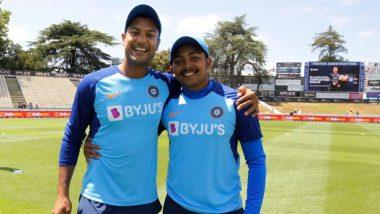 IND vs NZ 1st ODI: पृथ्वी शॉ-मयंक अग्रवाल च्या जोडीचे न्यूझीलंडविरुद्ध डेब्यू,44 वर्षानंतर घडला असायोगायोग, वाचा सविस्तर