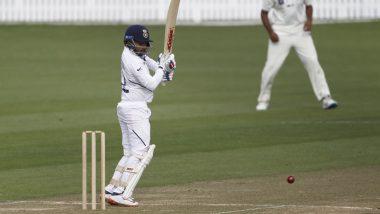 IND vs NZ 2nd Test Day 1: लंचपर्यंत भारताची धावसंख्या 85/2, पृथ्वी शॉ दौऱ्यावर पहिले अर्धशतक करून आऊट