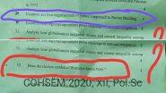 मणिपूर: 12 वी बोर्ड परीक्षेच्या राज्यशास्त्र पेपर मध्ये विचारले नेहरूंचे नकारत्मक निर्णय; भाजपचे चिन्ह काढण्याच्या प्रश्नाला मिळणार ४ मार्क्स