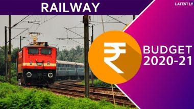 Railway Budget 2020 Highlights: यंदाच्या बजेट मध्ये भारतीय रेल्वेला कोणत्या मिळाल्या सुविधा, येथे पहा