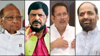 Rajya Sabha Elections 2020: राज्यसभेवर महाराष्ट्रातून कोणाची वर्णी? शरद पवार, रामदास आठवले यांच्यासह उदयनराजे भोसले, किरीट सोमय्या, हंसराज अहीर यांच्यात चूरस