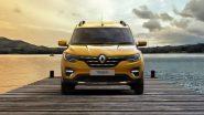 Renault ने दक्षिण आफ्रिकेत लाँच केली 'मेड-इन-इंडिया' Triber कार; चेन्नईमधून 600 गाड्या एक्सपोर्ट