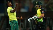 SA vs AUS 2nd T20I 2020 Live Streaming:दक्षिण आफ्रिका विरुद्ध ऑस्ट्रेलिया टी-20 लाईव्ह सामना आणि स्कोर पहा Sony SIX वर
