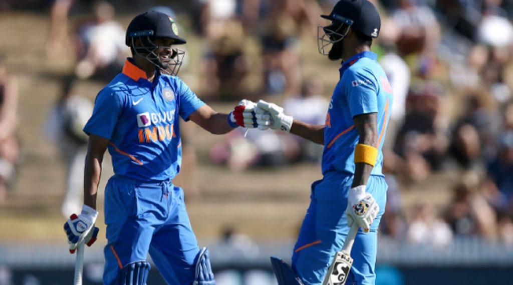 IND vs NZ 1st ODI: श्रेयस अय्यर-केएल राहुल यांची तुफानी फलंदाजी, टीम इंडियाचे न्यूझीलंडसमोर विजयासाठी 348 धावांचे लक्ष्य