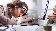 तुम्हाला ऑफिसमध्ये लंच नंतर झोप येते? 'या' टिप्स दूर करतील तुमचा थकवा