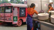 Washroom-on-Wheels: महापालिकेच्या जुन्या भंगार बसेसचा पुनर्वापर करून पुण्यातील दांपत्याने महिलांसाठी सुरू केली 'ती टॉयलेट' बस सुविधा; पहा काय आहे खास
