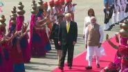 'Namaste Trump' Live Streaming on DD News: अहमदाबाद येथील मोटेरा स्टेडियम वरून पंतप्रधान नरेंद्र मोदी आणि अमेरिकन राष्ट्राध्यक्ष डोनाल्ड ट्र्म्प यांच्या भाषणाचे इथे  पहा थेट प्रक्षेपण