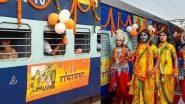 Shri Ramayana Express: चैत्र नवरात्रीनिमित्त करा रामाशी संबंधित धार्मिक स्थळांचे दर्शन; 28 मार्चपासून सुरु होत आहेश्री रामायण एक्सप्रेस; जाणून घ्या मार्ग व दर