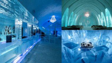 सुरु झाले स्वीडनमधील बहुचर्चित Ice Hotel; जाणून घ्या बर्फापासून बनवलेल्या 35 बेडरूम्सच्या हॉटेलची वैशिष्ट्ये आणि दर