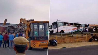 तामिळनाडू: बस-ट्रकच्या भीषण अपघातात 19 जणांचा मृत्यू, 15 गंभीर जखमी