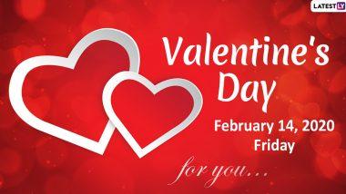 Valentine's Day 2020: 'व्हेलेंटाईन डे' म्हणून 14 फेब्रुवारीला जगभरात  प्रेमाचा दिवस साजरा करण्याचं 'हे' आहे महत्त्व आणि इतिहास
