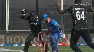 Watch: ईश सोढी ने हॅमिल्टन सामन्यात टाकलेली गुगली पाहून चक्रावला टीम इंडिया कर्णधारविराट कोहली, अशा प्रकारे झाला आऊट