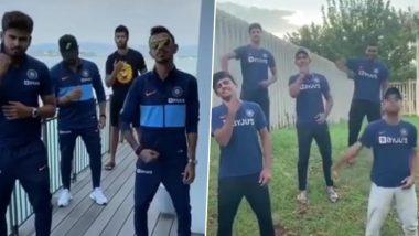 भारत अंडर-19 टीम ने कॉपी केला युजवेंद्र चहल-श्रेयस अय्यर यांचा व्हिक्टरी डान्स, पाहा Video