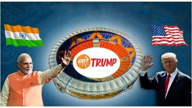 Donald Trump India Visit: अमेरिकेचे राष्ट्राध्यक्ष डोनाल्ड ट्रम्प यांचा आजपासून भारत दौरा; अहमदाबाद येथे काटेकोर बंदोबस्तासह जय्यत तयारी