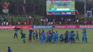 U-19 World Cup Final: भारत-बांगलादेश खेळाडूंना ICC कडून दे धक्का, फायनलनंतर आचार संहितेचे उल्लंघन केल्याबद्दल मानले दोषी