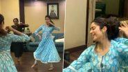 जान्हवी कपूर चा 'पीया तोसे नैना लागे' गाण्यावर बहारदार डान्स (Watch Video)