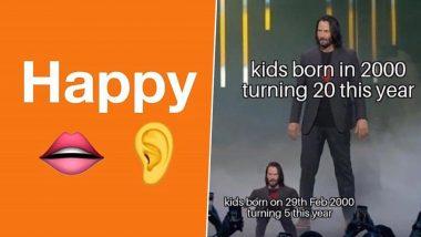 Leap Year 2020 Funny Memes: लीप इयरच्या निमित्ताने सोशल मीडियावर मिम्स चा पाऊस; तुम्ही पाहिलेत का?
