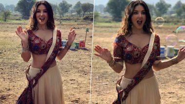 Sunny Leone च्या गावरान अदा पाहून चाहते झाले फिदा, फोटोला 10 लाखाहून अधिक लाइक्स, Watch Photos