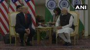 Donald Trump India Visit: 'भारतात येणे ही सन्मानाची गोष्ट', अमेरिका राष्ट्राध्यक्ष डोनाल्ड ट्रम्प यांची हैदराबाद हाऊसमध्ये प्रतिक्रिया