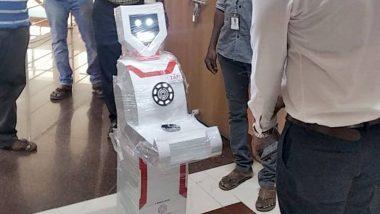 तामिळनाडू येथील सॉफ्टवेयर कंपनी ने तयार केले Humanoid Robot; कोरोना बाधितांवर उपचार करणाऱ्या डॉक्टरांना करणार मदत