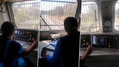 महिला मोटरमन ने बेंगळुरू ते म्हैसूर चालवली 'राज्यराणी एक्स्प्रेस' ट्रेन, पीयूष गोयल यांनी व्हिडिओ शेअर करत केल कौतुक; Watch video