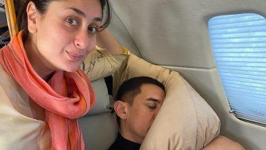 आमिर खान च्या नकळत करिनाने काढला त्याचा 'अशा' अवस्थेत झोपलेला फोटो, पाहून तुम्हालाही हसू होईल अनावर