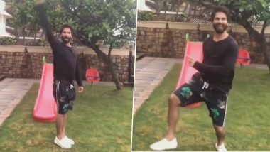 Coronavirus मुळे घरी राहून कंटाळलेल्या शाहिद कपूर याने डान्स करत केला 'टाईमपास', Watch Viral video