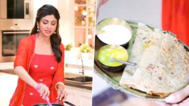Gudi Padwa 2020 Puran Poli Recipe: 'गुढी पाडवा' निमित्त अभिनेत्री शिल्पा शेट्टी ने बनवली खास पुरण पोळी; तुम्हीही नक्की ट्राय करा, पहा व्हिडिओ