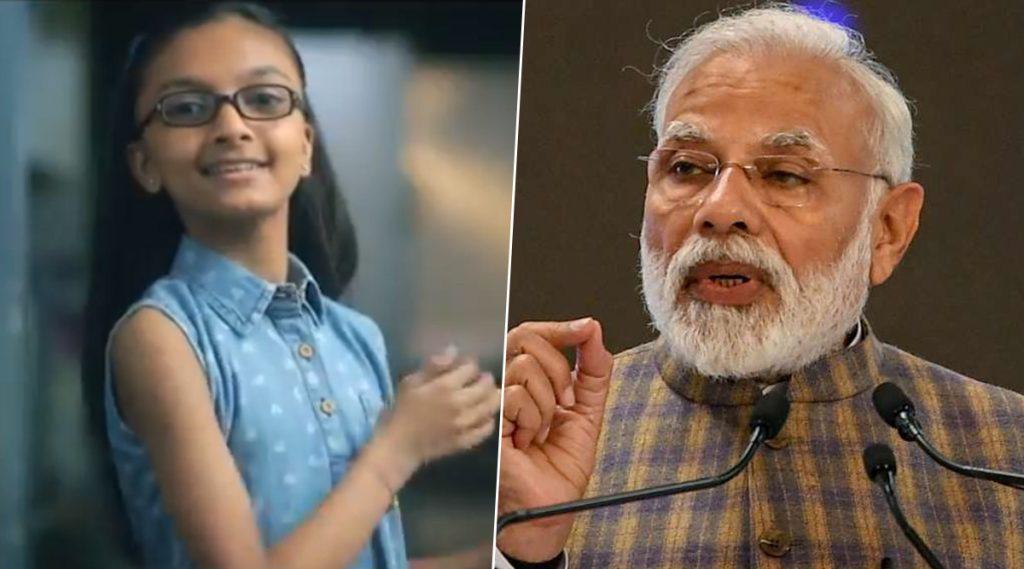 पंतप्रधान नरेंद्र मोदी यांनी शेअर केला 'बनो कोरोना वॉरियर्स' असा संदेश देणारा चिमुकलीचा खास व्हिडिओ (Watch Video)
