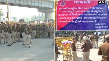 हिंदू सेनेच्या चेतावणीनंतर शाहीनबाग परिसरात जमावबंदी; कलम 144 लागू