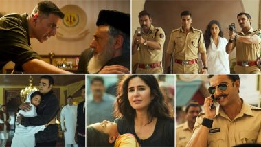 Sooryavanshi Trailer: अक्षय कुमार, अजय देवगन आणि रणवीर सिंह स्टारर अॅक्शन्स ने भरपूर असलेला 'सूर्यवंशी' सिनेमाचा ट्रेलर झाला प्रदर्शित; Watch Video