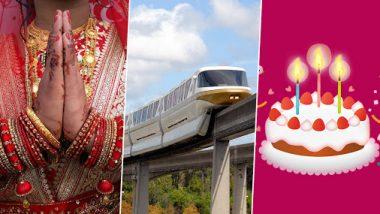 मुंबई: मोनोरेल मध्ये लागणार लग्न, साजरा करता येणार वाढदिवस; तोटा भरून काढण्यासाठी MMRDA चा मोठा निर्णय