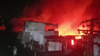 Pune Fire:  जुनी वडारवाडी येथे गॅस सिलेंडरचा स्फोट झाल्याने भीषण आग; सुमारे 15 झोपड्या जळून खाक