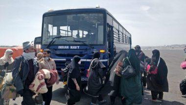 इराण मधून आलेल्या 44 भारतीयांची दुसरी तुकडी मुंबई मध्ये लॅन्ड; घाटकोपरच्या  Indian Navy Quarantine Facility मध्ये दाखल