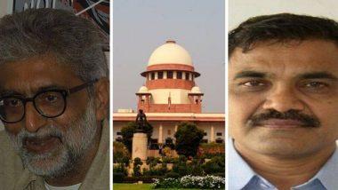 Bhima Koregaon Case: गौतम नवलखा, आनंद तेलतुंबडे यांच्या अडचणीत वाढ; सर्वोच्च न्यायालयाने जामीन नाकारत 3 आठवड्यात शरण येण्याचे दिले आदेश