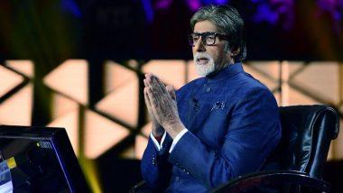 2020 वर्ष डिलिट करु शकतो का? अमिताभ बच्चन यांच्या 'या' प्रश्नावर युजरचे मजेशीर उत्तर
