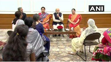 International Women's Day 2020: जागतिक महिला दिनानिमित्त शक्ती पुरस्काराने सन्मानित महिलांशी पंतप्रधान नरेंद्र मोदी यांनी साधला संवाद