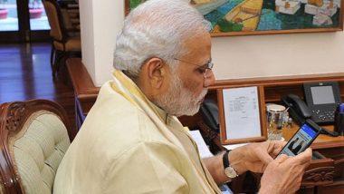 पंतप्रधान नरेंद्र मोदी यांचा सोशल मीडिया सोडण्याचा विचार, ट्वीट करत दिली माहिती