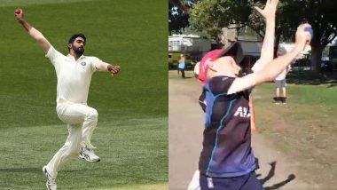IND vs NZ: हेगले ओव्हल मैदानाबाहेर लहान मुलाने केली जसप्रीत बुमराहच्या गोलंदाजीची नक्कल, BCCI ने शेअर केला Video