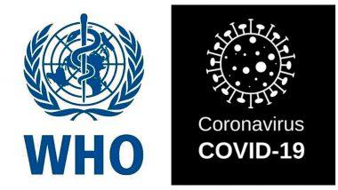 Coronavirus: COVID-19 विषाणू म्हणजे साथीचा आजार- जागतिक आरोग्य संघटना